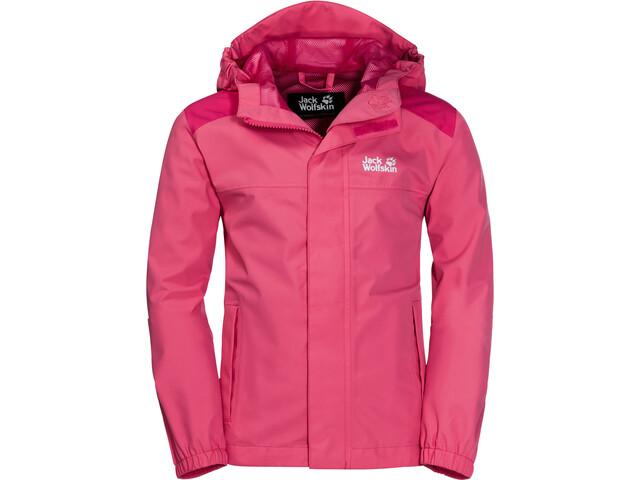 Jack Wolfskin Oak Creek Jacket Kids hot pink
